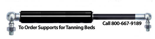 tanning bed gas spring